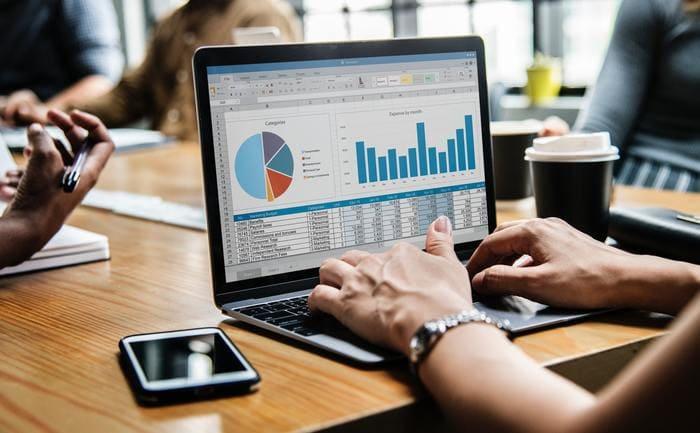 Planilha de projeção financeira para as comissões